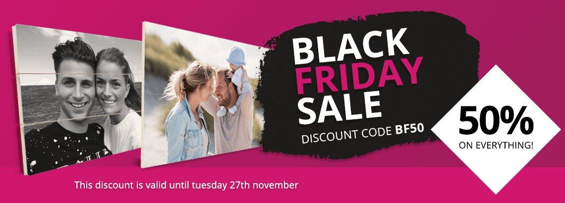Black Friday Sale photo on wood