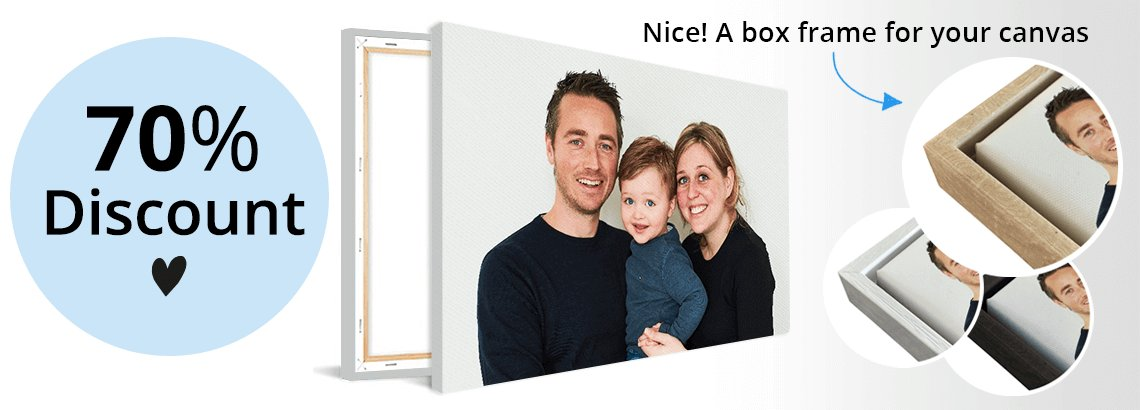 Photo canvas discount
