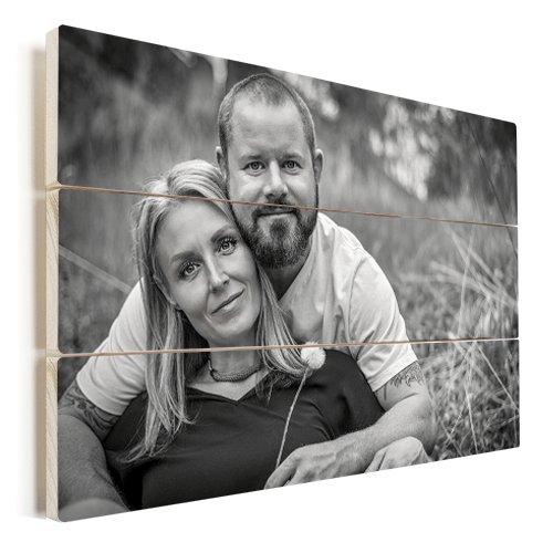 Photo on wood